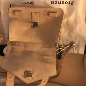 Proenza Schouler Bags - Proenza Schouler PS1 Mini Crossbody Suede Beige